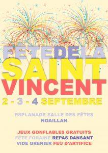 Fête de la Saint-Vincent @ Esplanade de la Salle des Fêtes | Noaillan | Aquitaine Limousin Poitou-Charentes | France