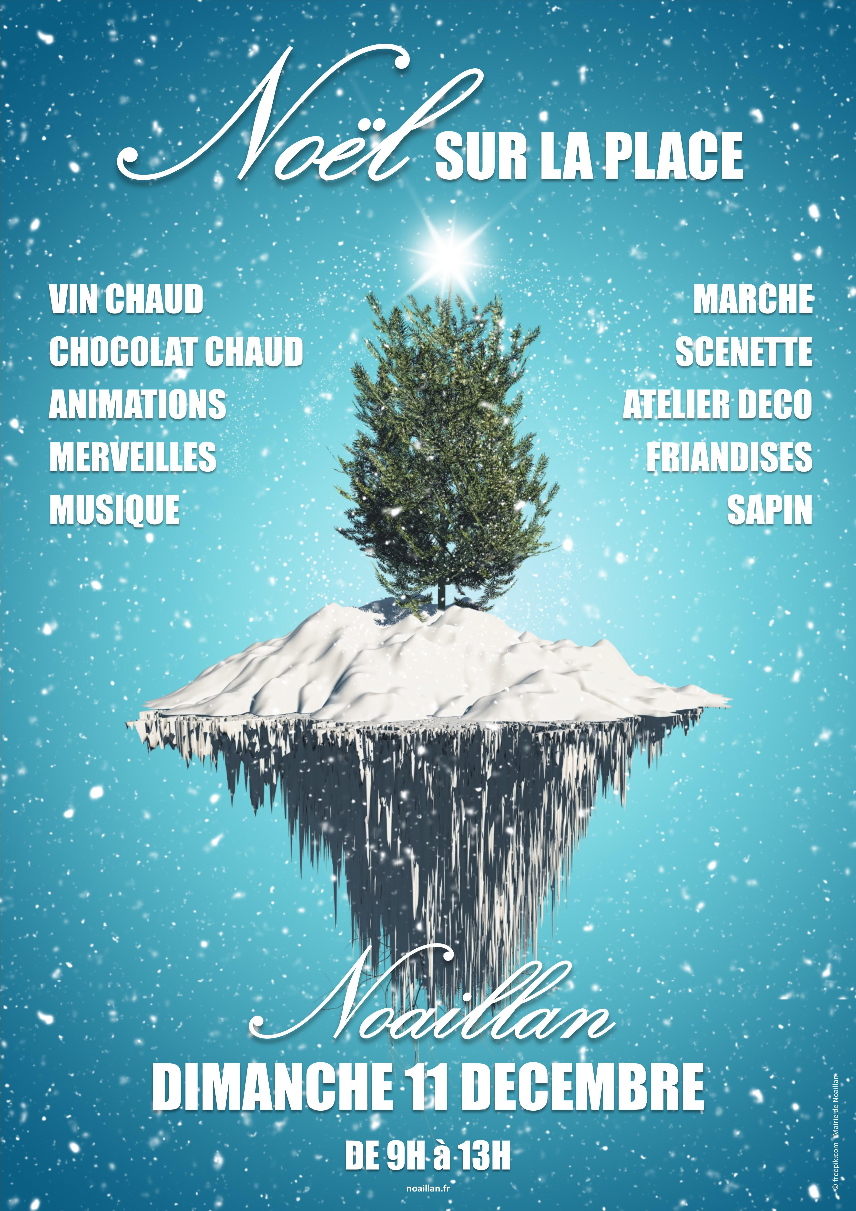 Noël sur la place @ Bourg | Noaillan | Aquitaine-Limousin-Poitou-Charentes | France