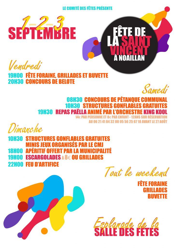 Fête de la Saint-Vincent @ Esplanade de la salle des fêtes | Noaillan | Nouvelle-Aquitaine | France