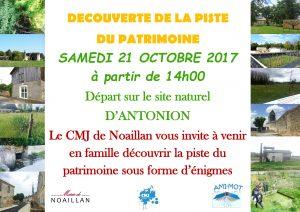 Découverte de la piste du patrimoine @ Site naturel d'Antonion  | Noaillan | Nouvelle-Aquitaine | France