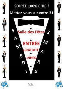 Soirée 100% CHIC ! @ Salle des fêtes  | Noaillan | Nouvelle-Aquitaine | France