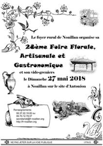 Foire Florale Artisanale et Gastronomique @ Site Antonion, 33730 Noaillan