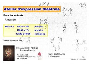 Rentrée théâtrale - Florence HAMMANN @ Noaillan | Nouvelle-Aquitaine | France