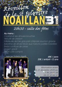 Réveillon de la Saint Sylvestre @ Salle des fêtes  | Noaillan | Nouvelle-Aquitaine | France