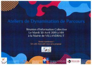 Ateliers de dynamisation de parcours @ Mairie de Villandraut  | Villandraut | France
