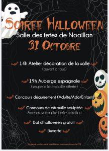 Halloween @ Salle des fêtes