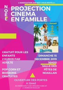 Projection cinéma en famille - Ami-Mot @ Salle des fêtes